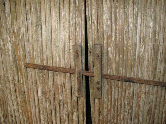 The Mangrove:                   door of the bungalow