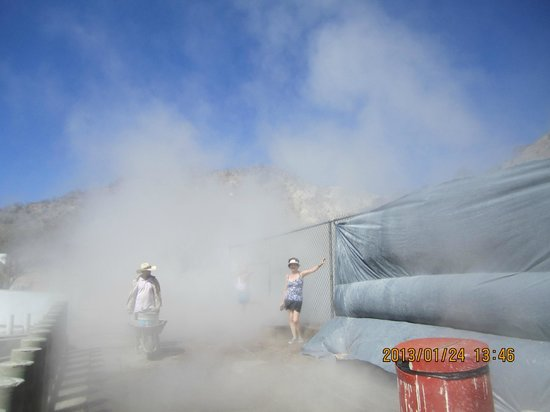"Tecozautla, México:                   The geiser. You can take a ""bath"" in the steam."