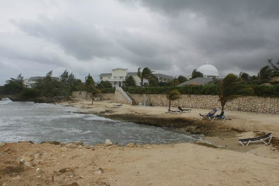 Grand Palladium Jamaica Resort & Spa:                   One of the (non-swimming) beaches