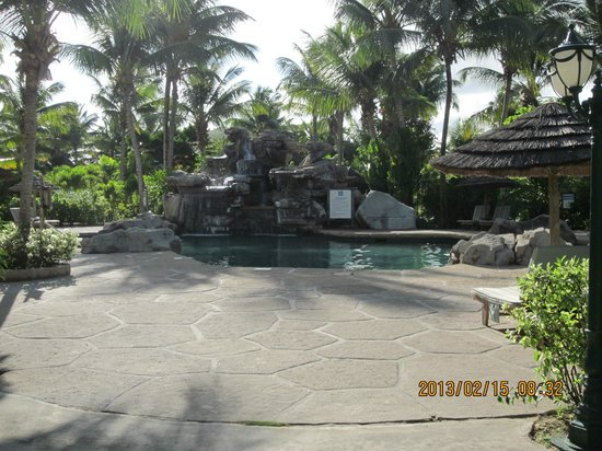 Galley Bay Resort:                                     The pool
