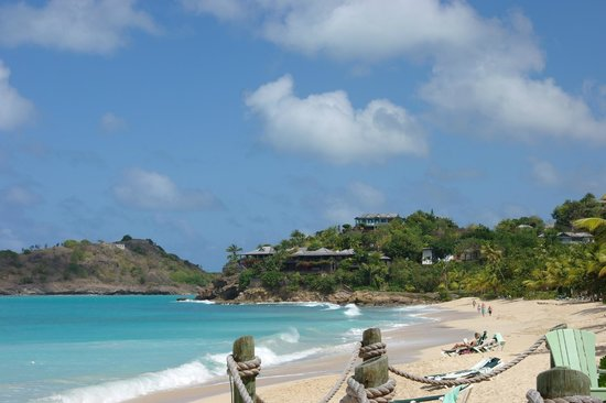 Galley Bay Resort & Spa - All Inclusive :                                     The end of the beach