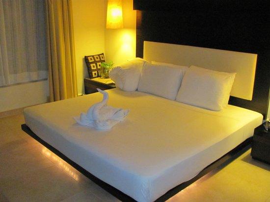 Hotel El Punto:                   Cama