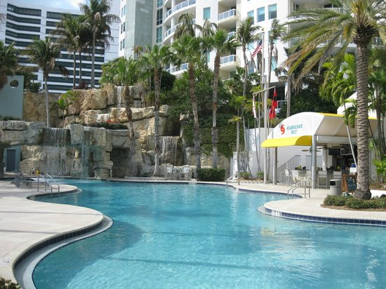 Hyatt Regency Sarasota:                   Tropical-like pool w/waterfalls