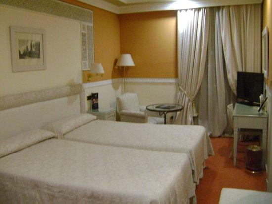 Hotel Alhambra Palace:                   Habitación vista 2