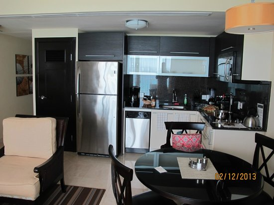 Ocean Two Resort & Residences:                   Kitchen