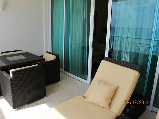 Ocean Two Resort & Residences:                   Balcony