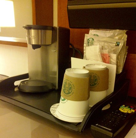 The Westin Calgary:                   starbucks