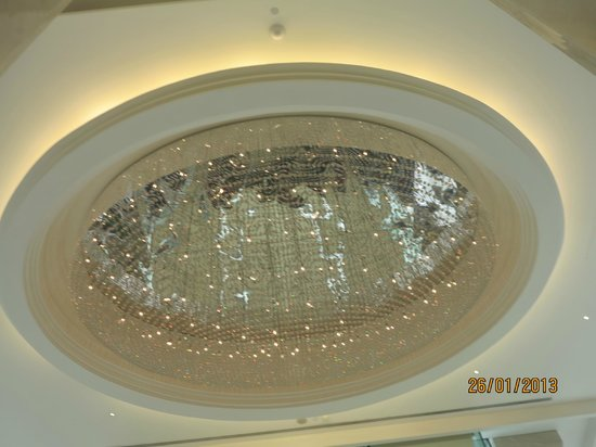 Grande Centre Point Terminal 21:                   Chandellier in main lobby