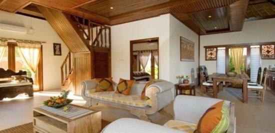 Tirtarum Villas, Canggu Bali: Living room