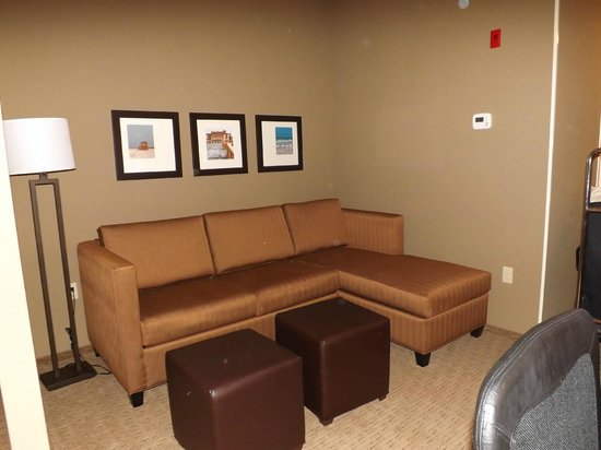 Comfort Suites Sarasota:                   Living room area