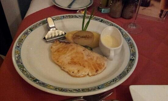 Zucchini's:                   Chilean Sea Bass