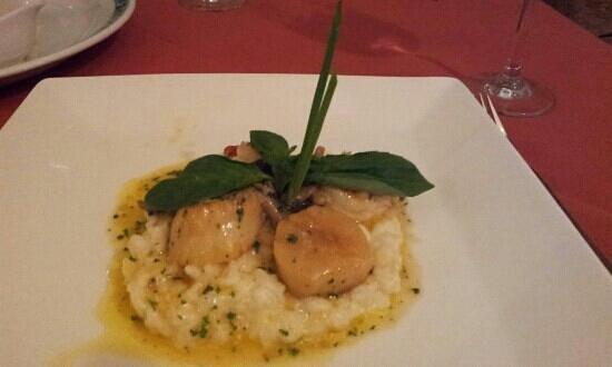 Zucchini's:                   Scallop and Shrimp Risotto