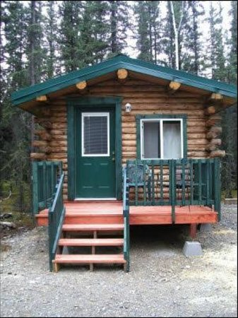 Tok, AK: Ptarmigan Cabin sleeps 1 or 2