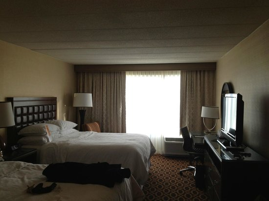 Sheraton Ann Arbor Hotel:                   Room 529/Two Queen Beds