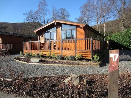 Luss, UK: Inverbeg Holiday Park Loch Lomond