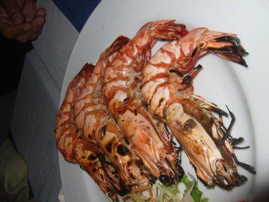 Sala Bua & Lo Spuntino Restaurant:                   BBQ Prawns