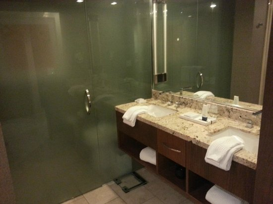 ARIA Resort & Casino:                   Clean Bathroom