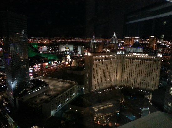 ARIA Resort & Casino:                   Marvelous View From Our Room