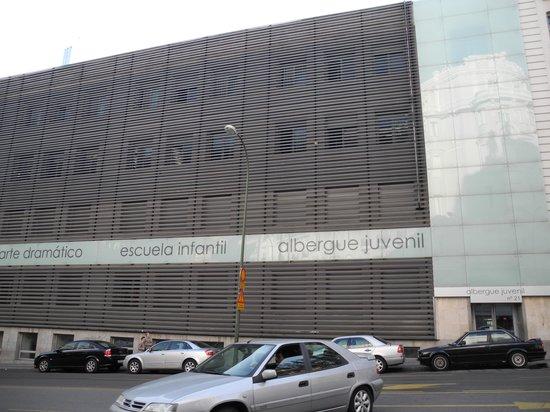 Albergue Juvenil Madrid :                   The building