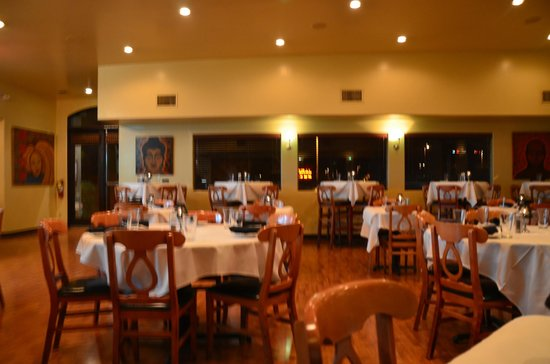 Troia's:                   The restaurnat .. before it got crowded