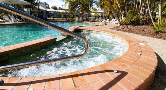 Ivory Palms Resort Noosa: Heated Spa