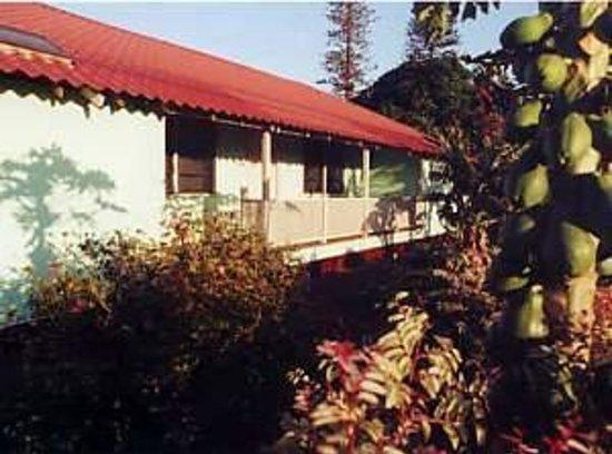Lanai City, Hawaï : Front verandah
