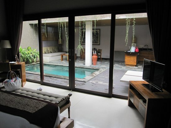 The Lokha Umalas Villas & Spa:                                     the view from room