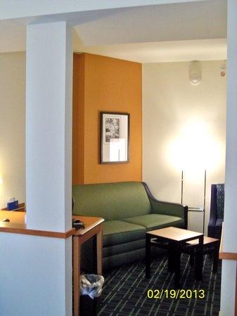 Fairfield Inn & Suites Holiday Tarpon Springs :                   MiniSuite