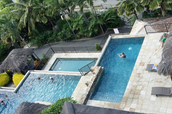 at Water's Edge Resort:                                     swimming pool