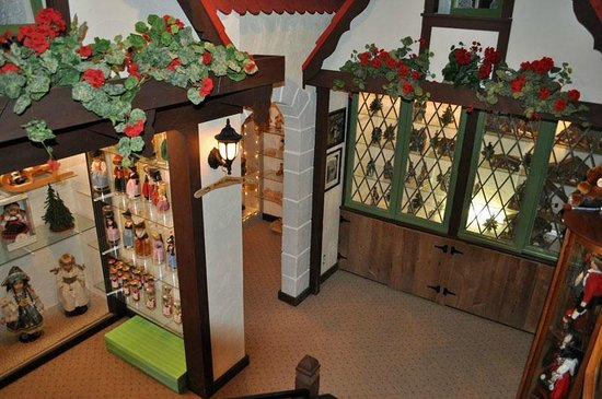 Inside the Gift Shop at Ferg's Bavarian Village