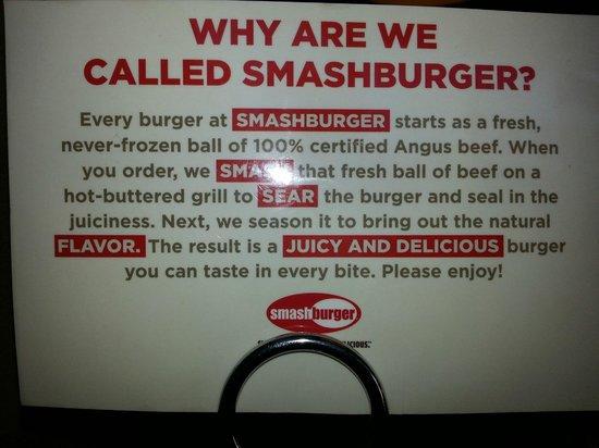 Smashburger:                   So True!