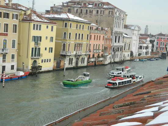 Hotel Canal Grande:                   View