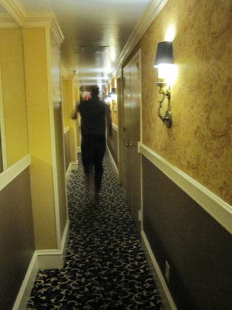 The Inn at Union Square - A Greystone Hotel:                   Cute narrow halls