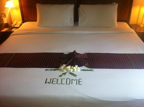 The Front Village Hotel:                                     Trevligt välkomnande