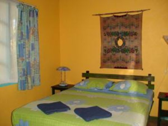Hotel Guarana: the bedroom