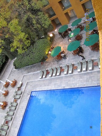 Camino Real Mexico City:                   Conference at the pool