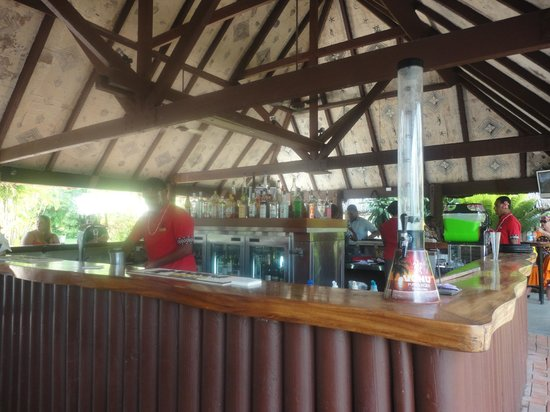 Outrigger Fiji Beach Resort:                   Pool bar lunch/dinner