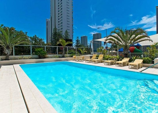 Hi Surf Beachfront Resort Apartments:                   pool