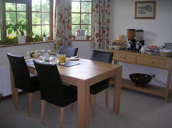 Brett Farm Bed and Breakfast : Dinning Room