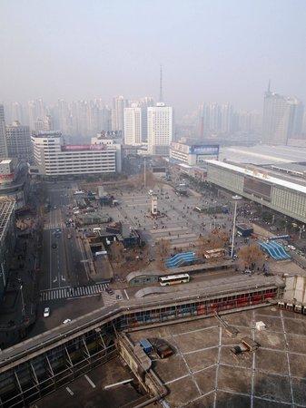 Pullman Shanghai Jing An:                   Old Shanghai railway station