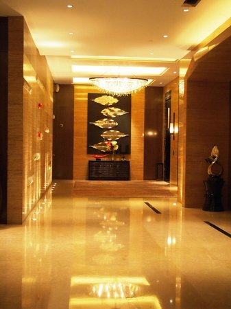 Grand Mercure Shanghai Central:                   Lift lobby