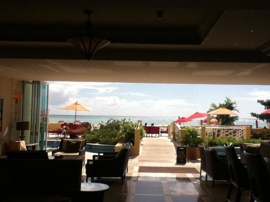 Ocean Two Resort & Residences:                   View from lobby
