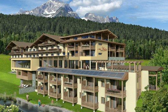 Hotel ...mein Neubergerhof:                   exterior