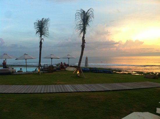 Komune Resort, Keramas Beach Bali:                   Scenic view