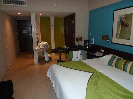 NH Punta Cana:                   portes vertes : toilettes et douche