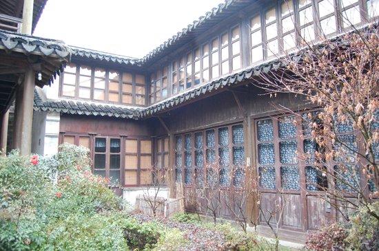 Pingjiang Lodge:                   中庭