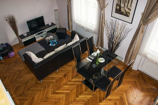 Welcome Budapest Apartments:                   Wohnbereich