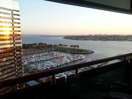 Marriott Marquis San Diego Marina:                   View from my room