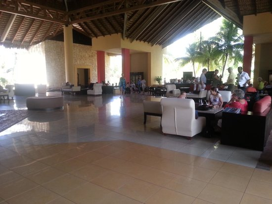 Caribe Club Princess Beach Resort & Spa:                   LA RECEPTION