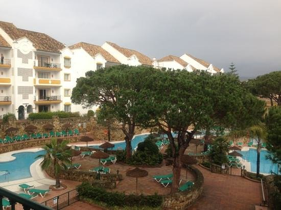 Ona Alanda Club Marbella:                   view from room balcony